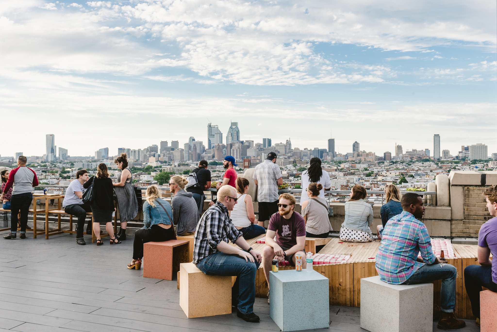 The best rooftop bars in Philly