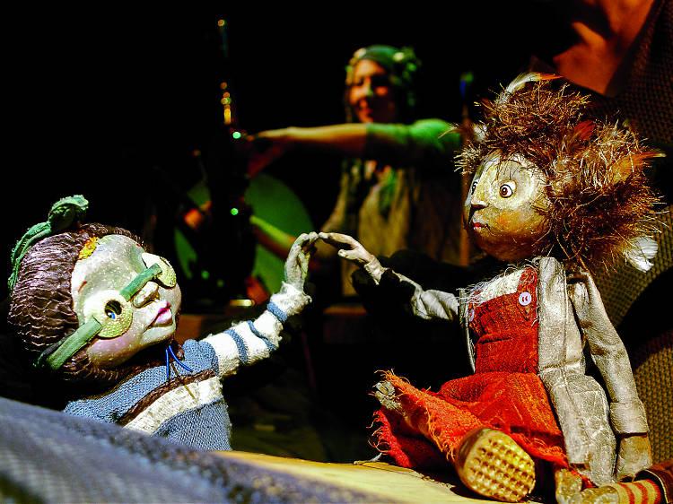 Ondin. La Ilusión, teatro de marionetas