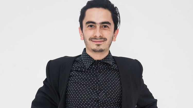 Raúl Meneses, standupero de la CDMX