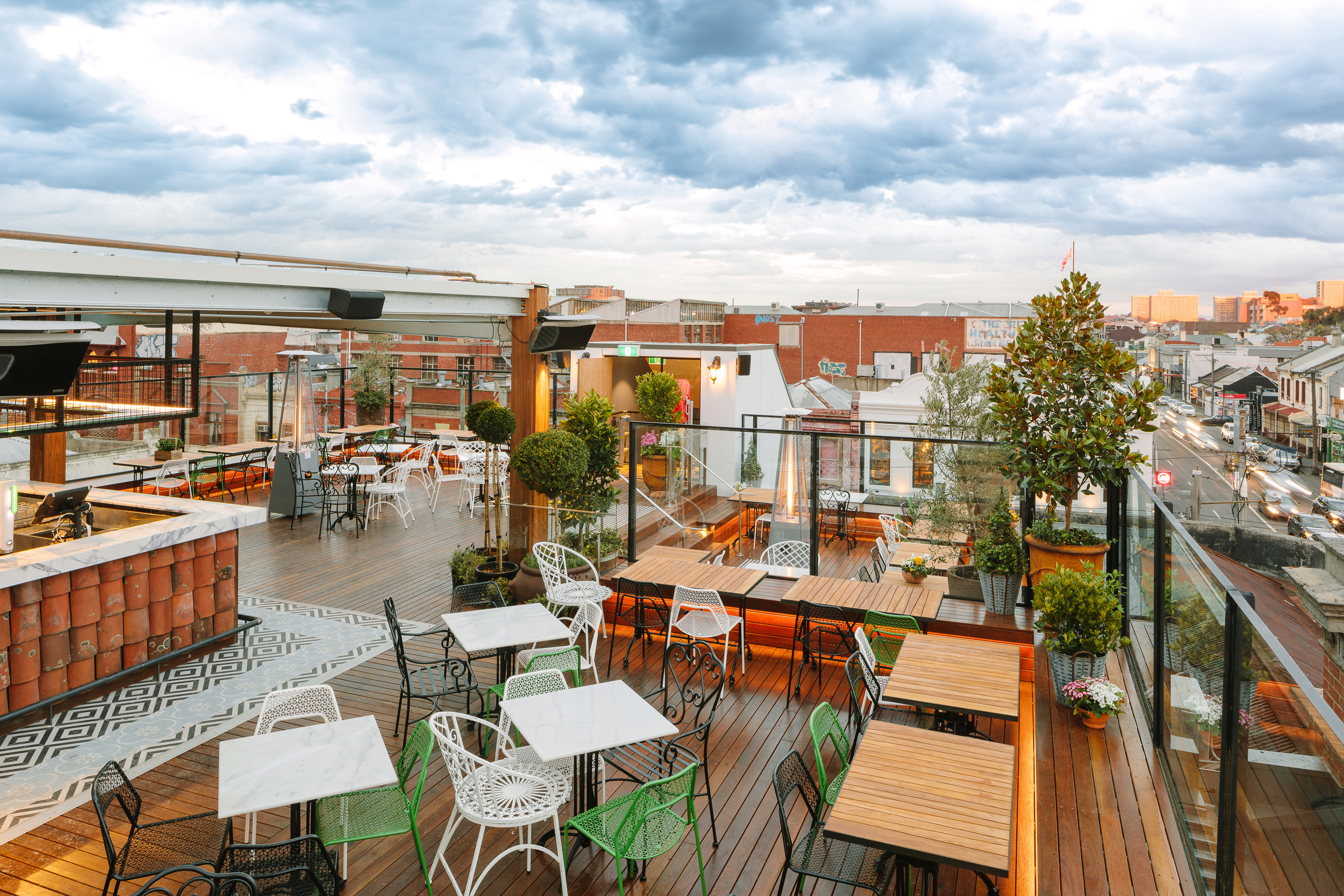 Dream of summer at Fitzroy's newest rooftop bar