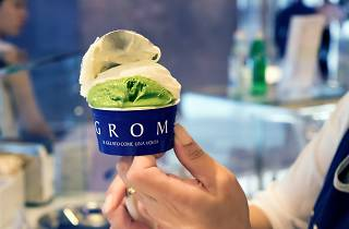 grom green tea gelato
