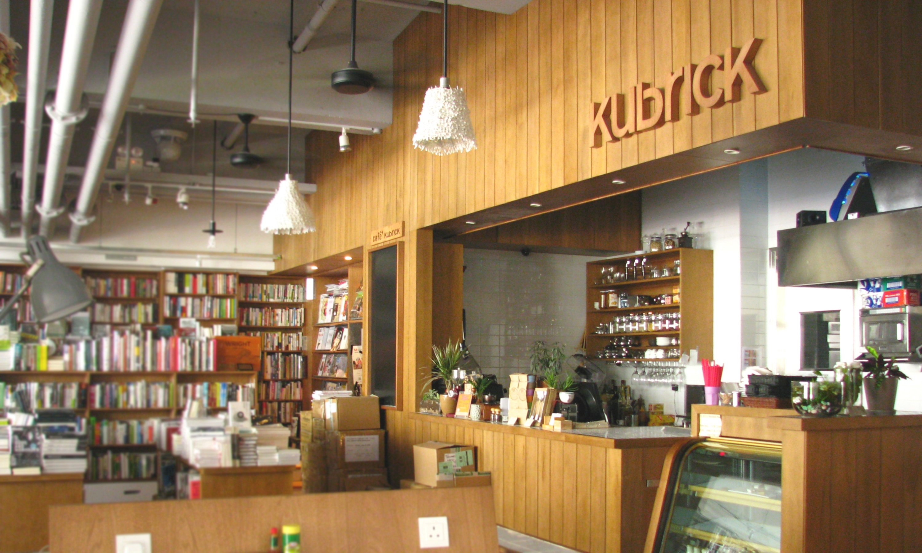 Kubrick Bookshop Cafe
