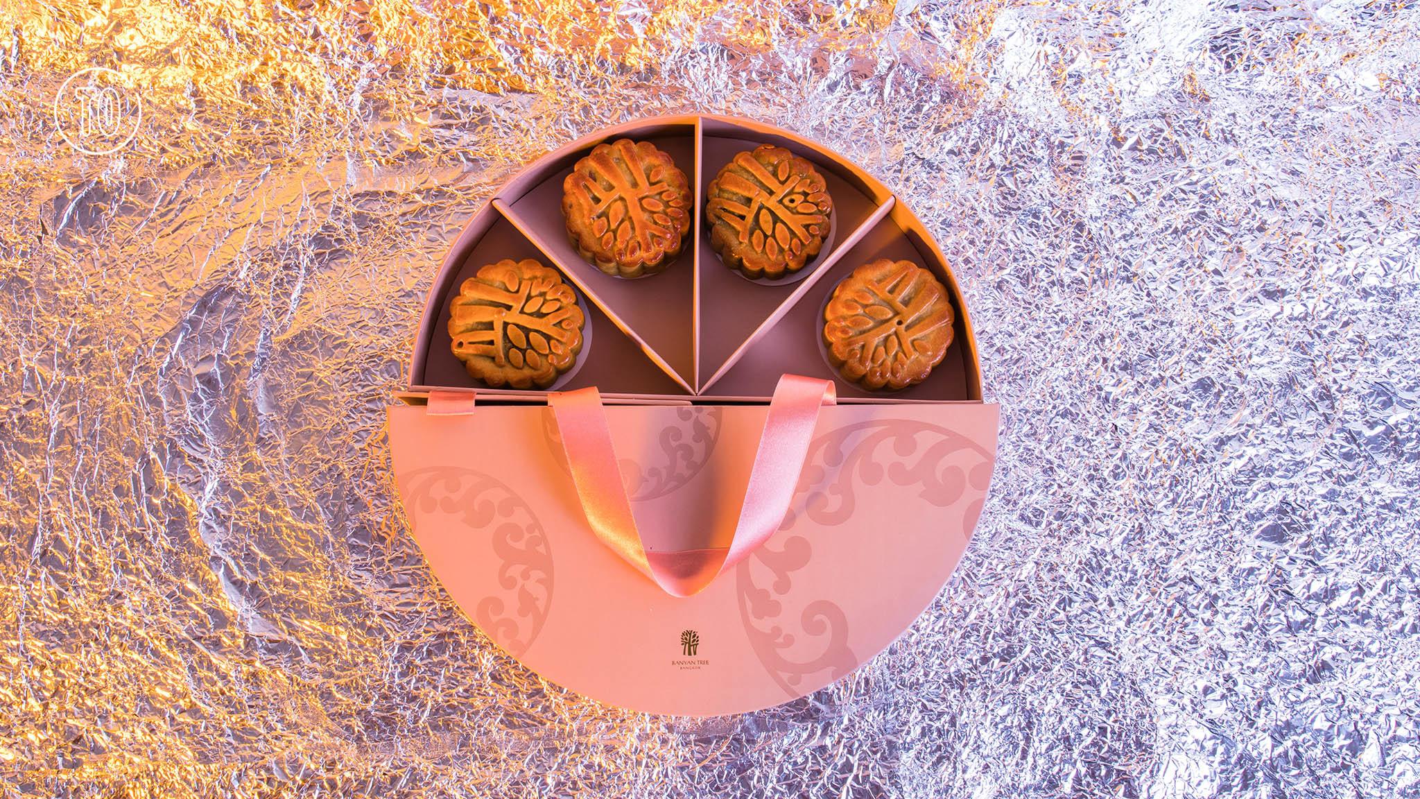 Banyan Tree Bangkok moon cake