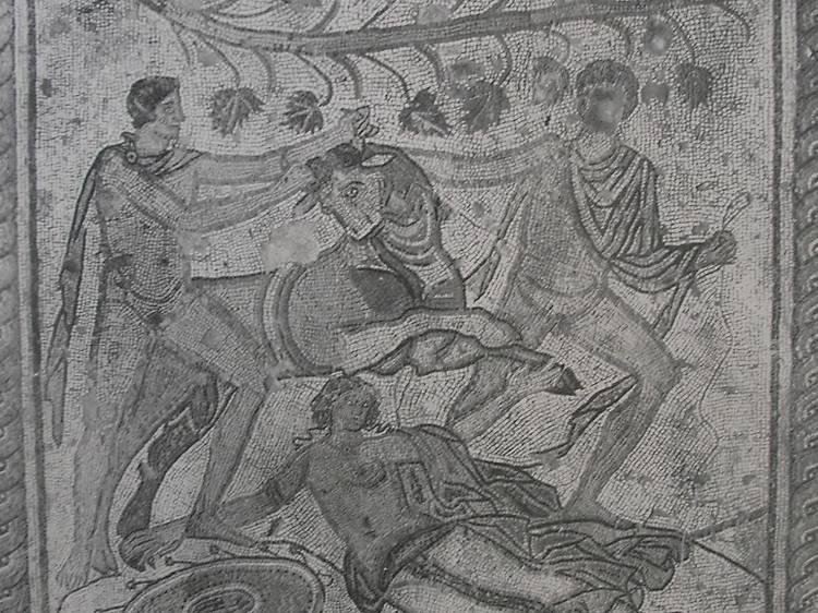 Find Roman treasure in a car park