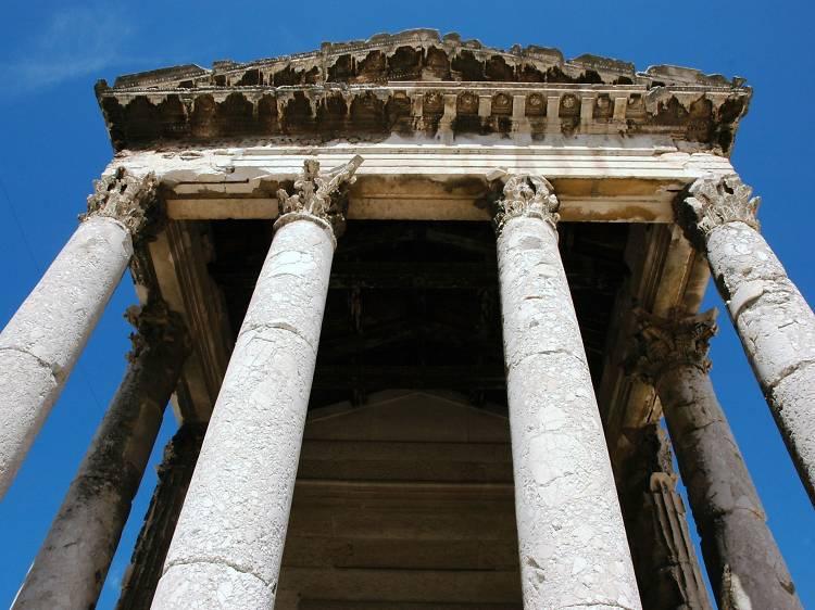 Visit a Roman temple