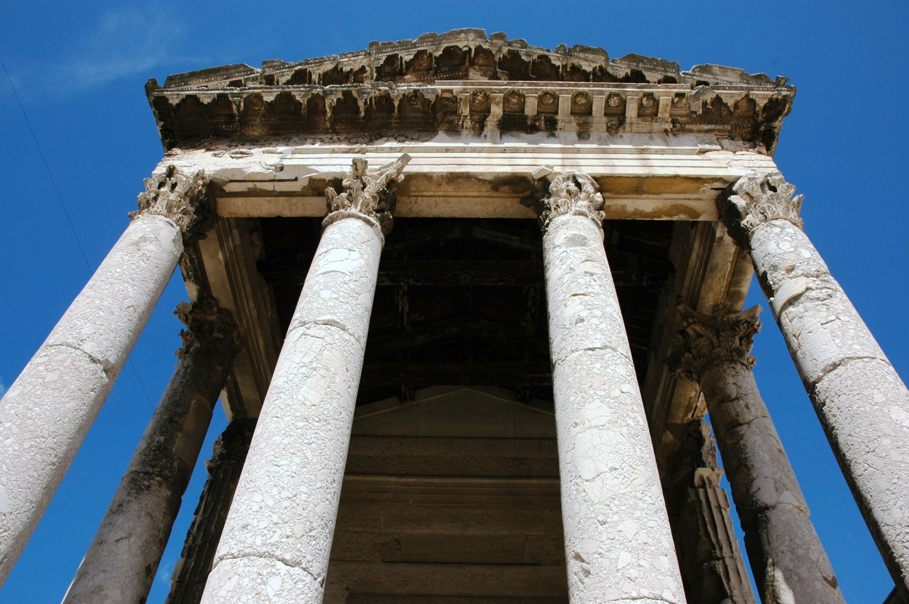 The Temple of Augustus in Pula