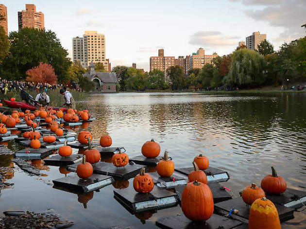 Halloween Parade and Pumpkin Flotilla