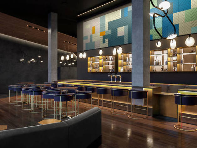 A new luxury movie theater opens in Hell's Kitchen tomorrow