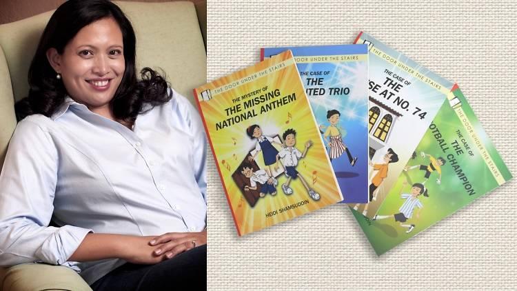 Heidi Shamsuddin, kids, books, author