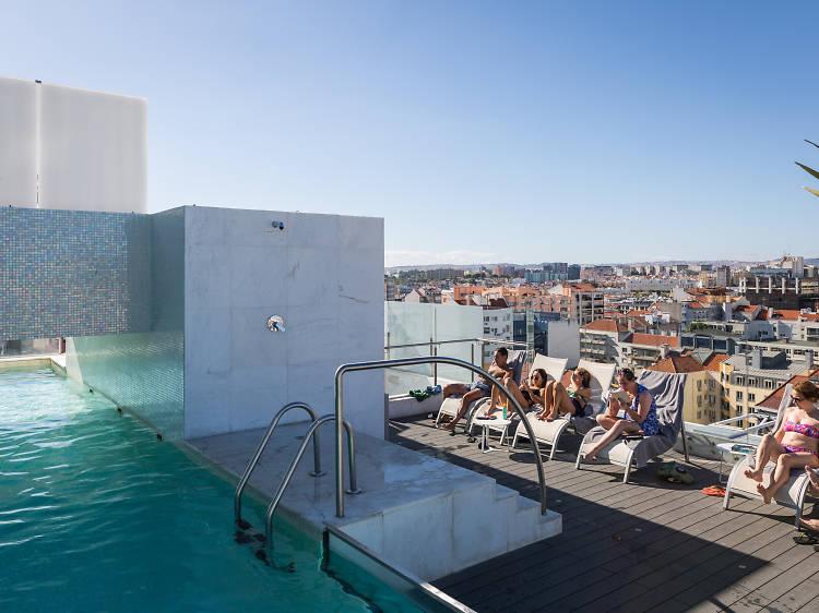 Hotel White Lisboa: noite branca