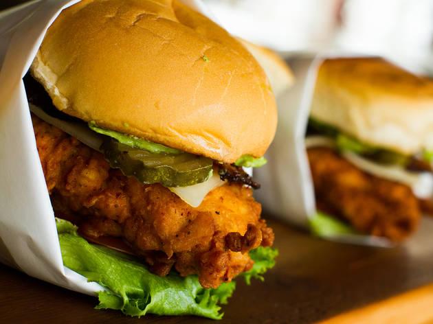 Spring Chicken fried chicken sandwich