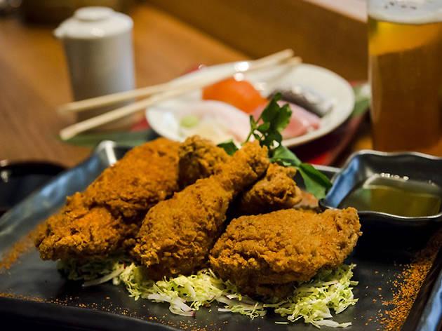 Blue Ribbon Sushi Bar & Grill fried chicken