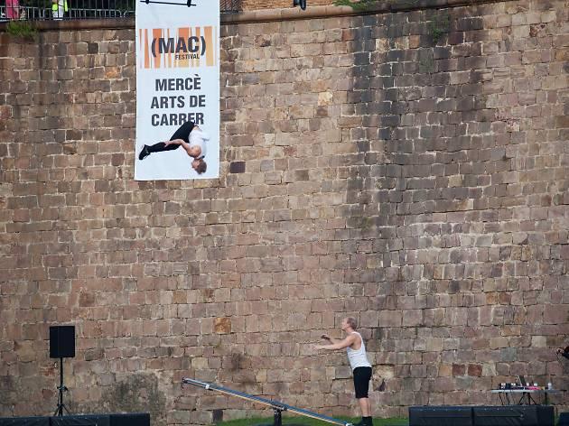 La Mercè 2017: MAC Festival. Circus at the Castell de Montjuïc
