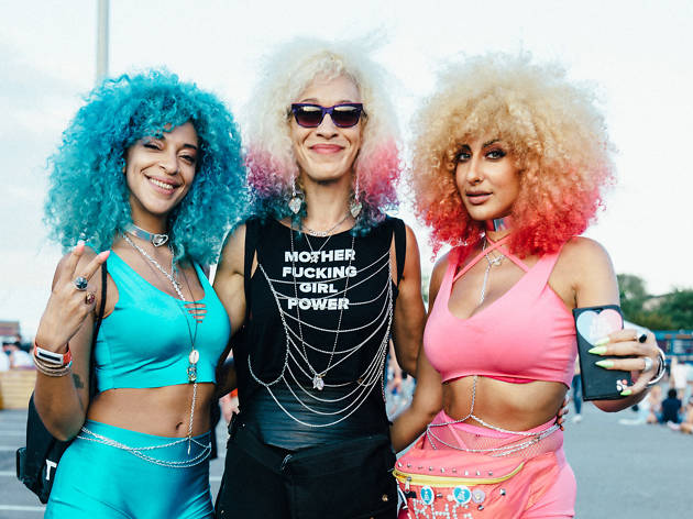 The fashion looks we can't get enough of at Meadows Festival 2017