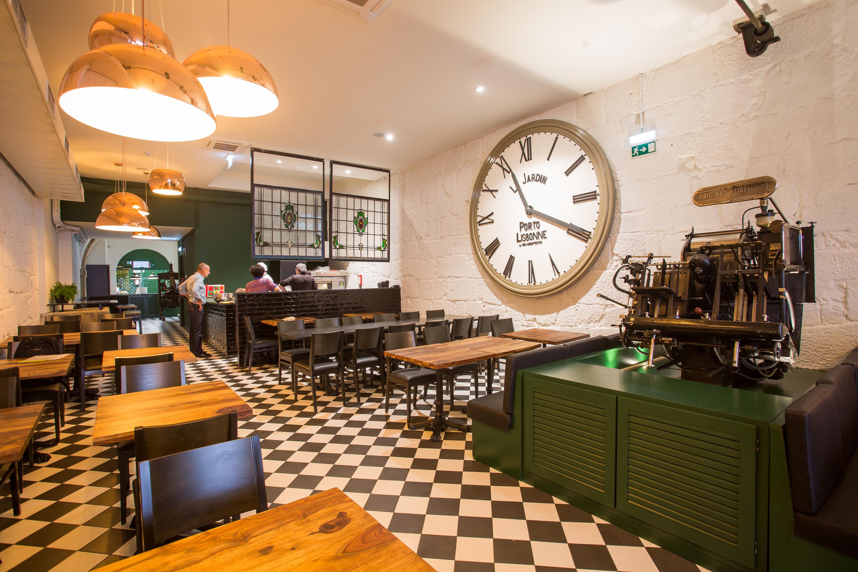 Restaurante, Typographia Progresso, Cozinha do Mundo
