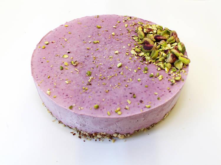 Cheesecake de Mirtilo e Lima da Diospiro