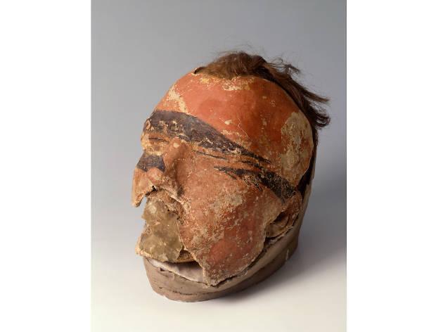 Mummy head - British Museum