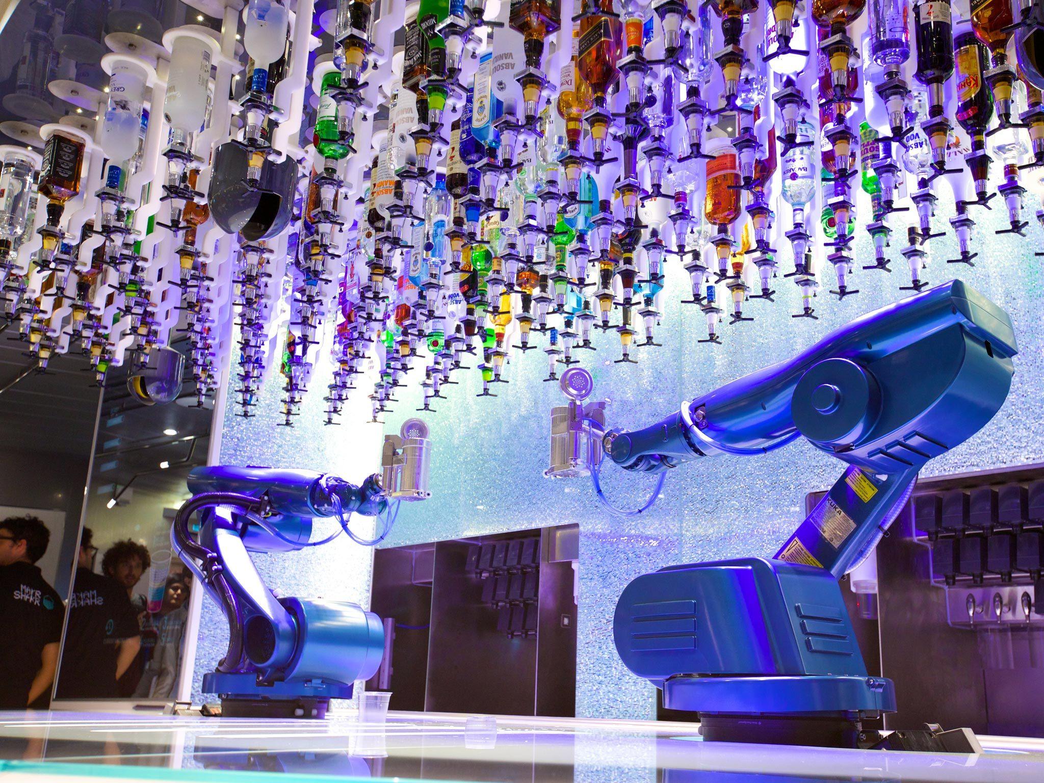 The Tipsy Robot, Las Vegas
