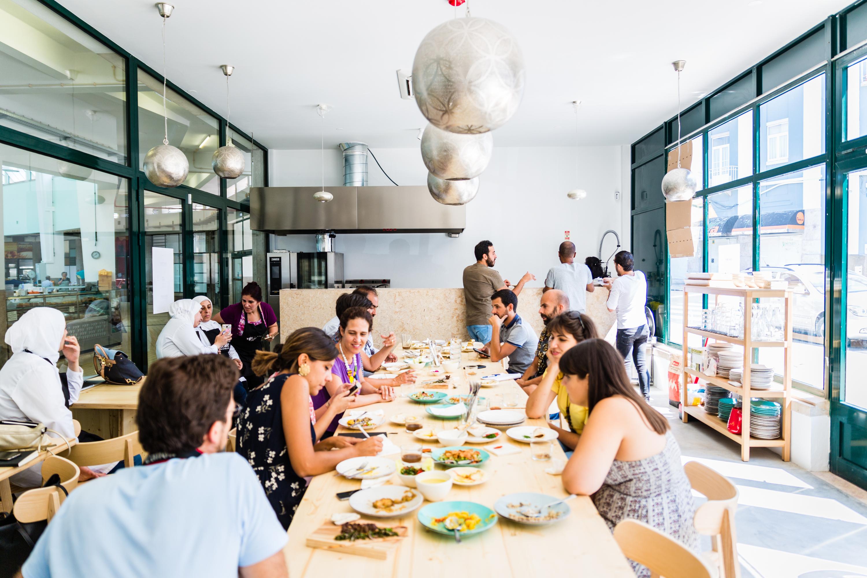 mezze, restaurante sírio, arroios