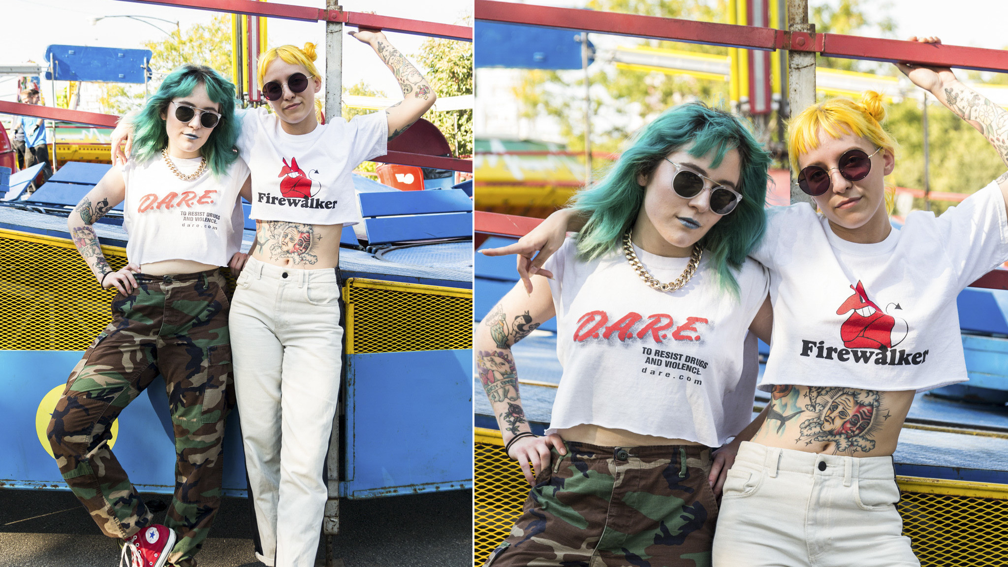 The best fashion at Riot Fest 2017