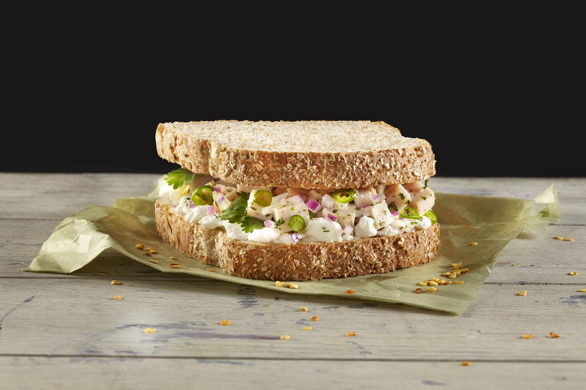 sándwich de pescado Bimbo