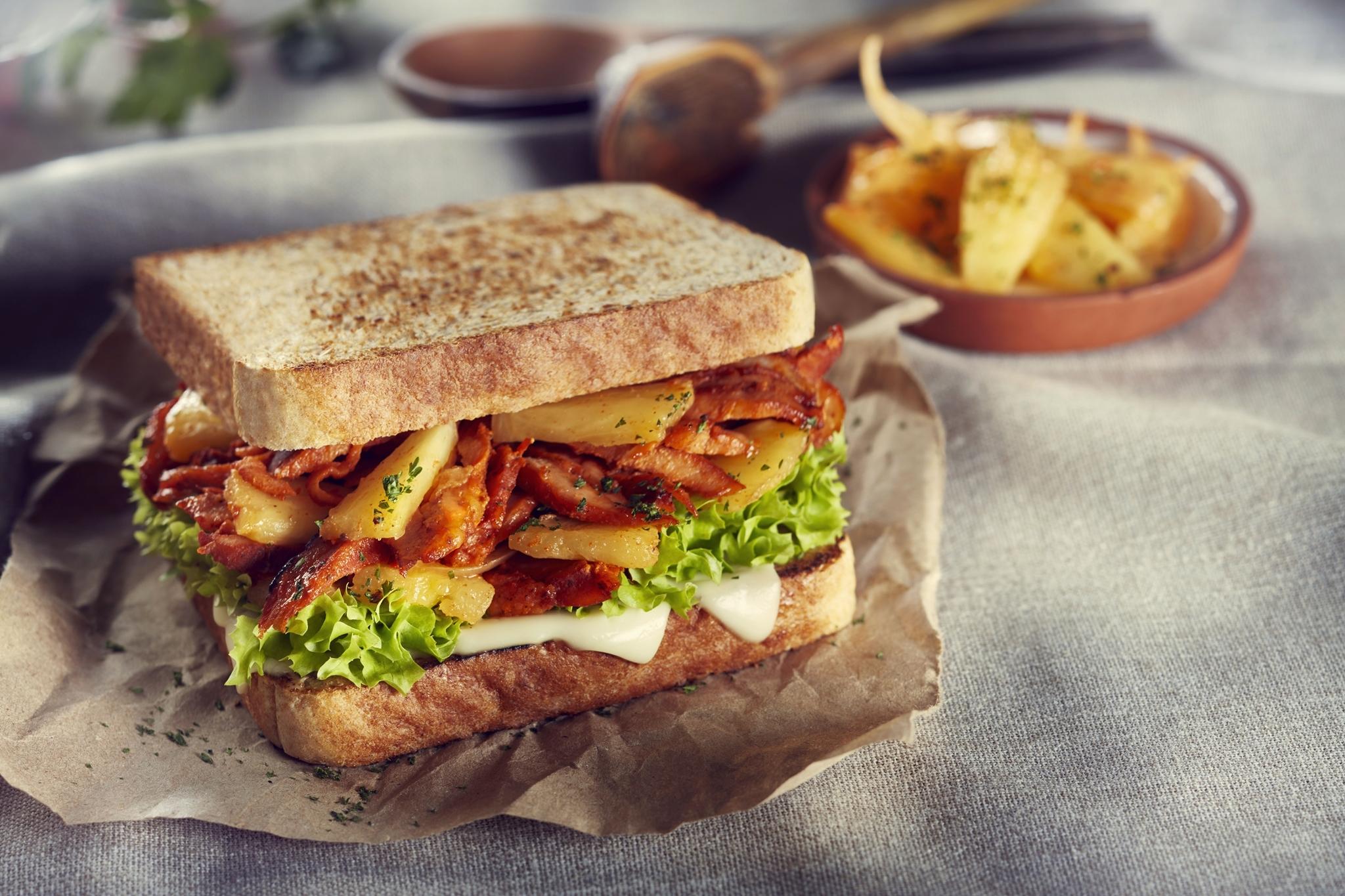 Sándwich de pastor Bimbo