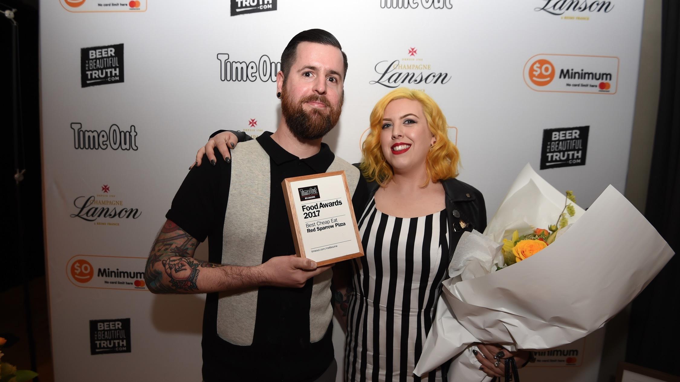 2017 Time Out Food Awards at Pontoon St Kilda