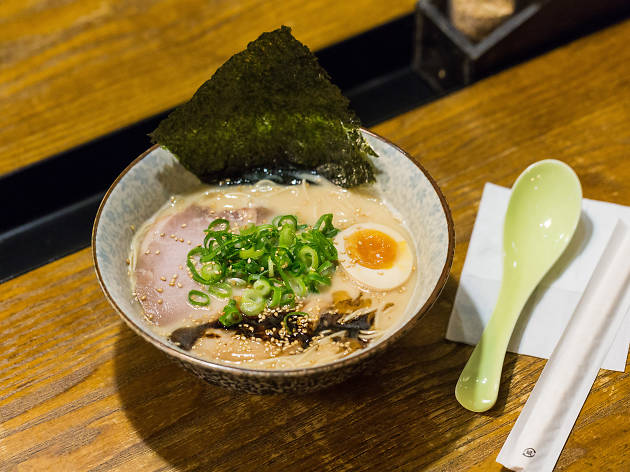 Tonkotsu ramen at Taro's Ramen
