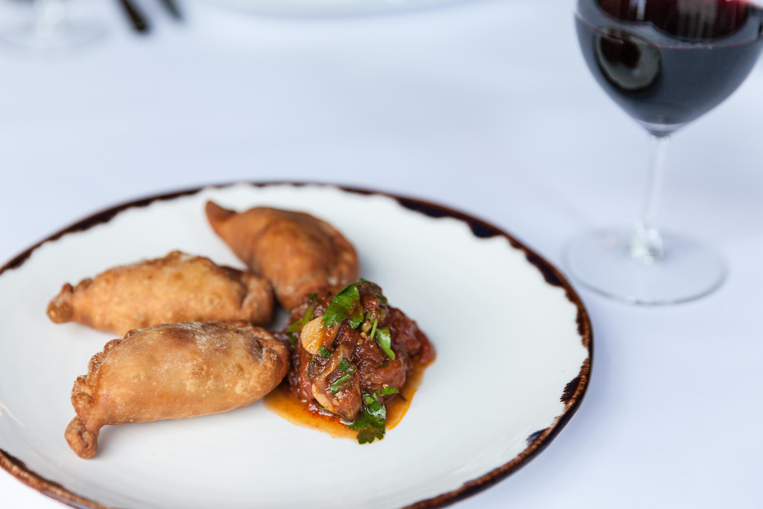 Empanadas at Sosta Argentinian Kitchen