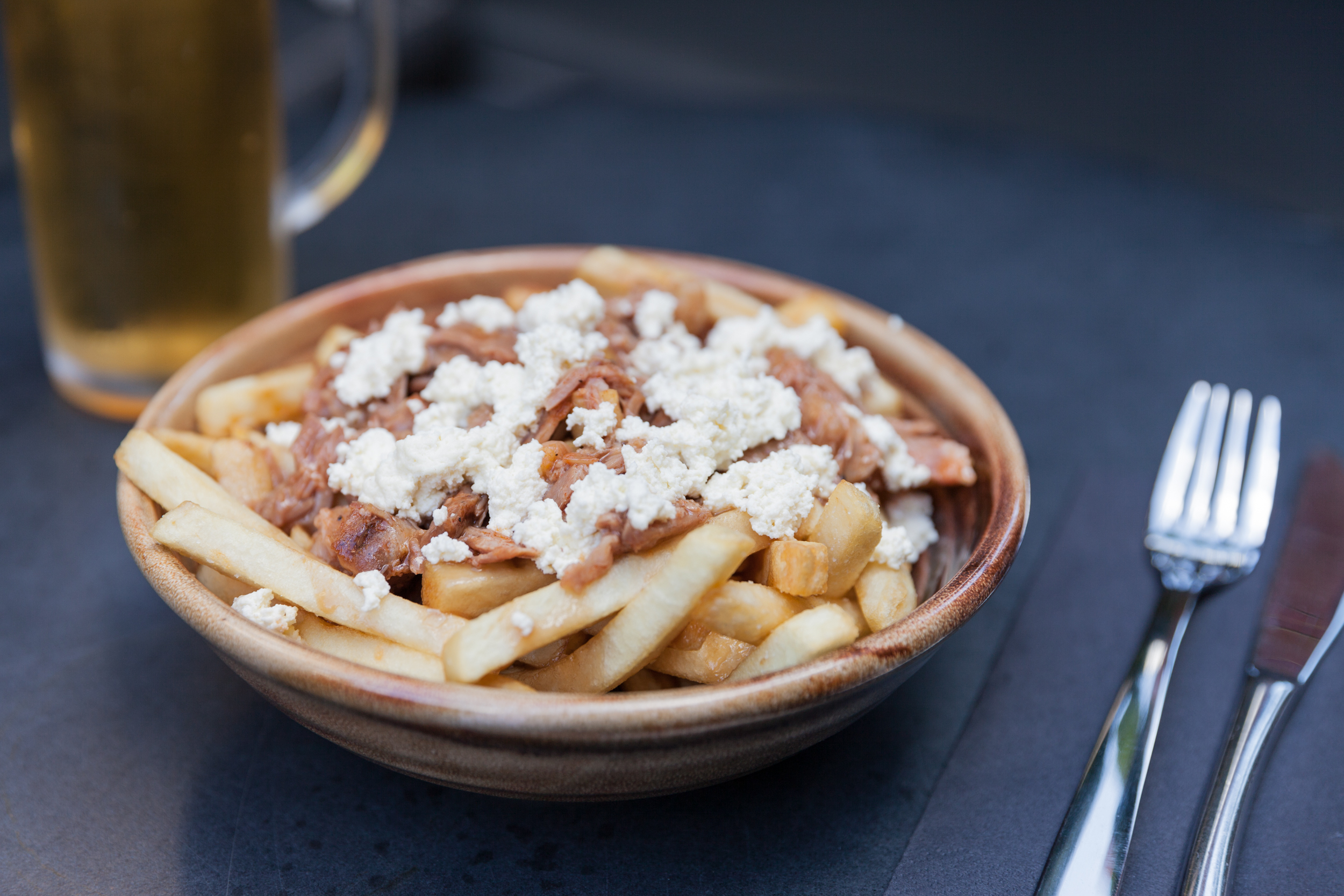 Poutine at Electra House Hotel