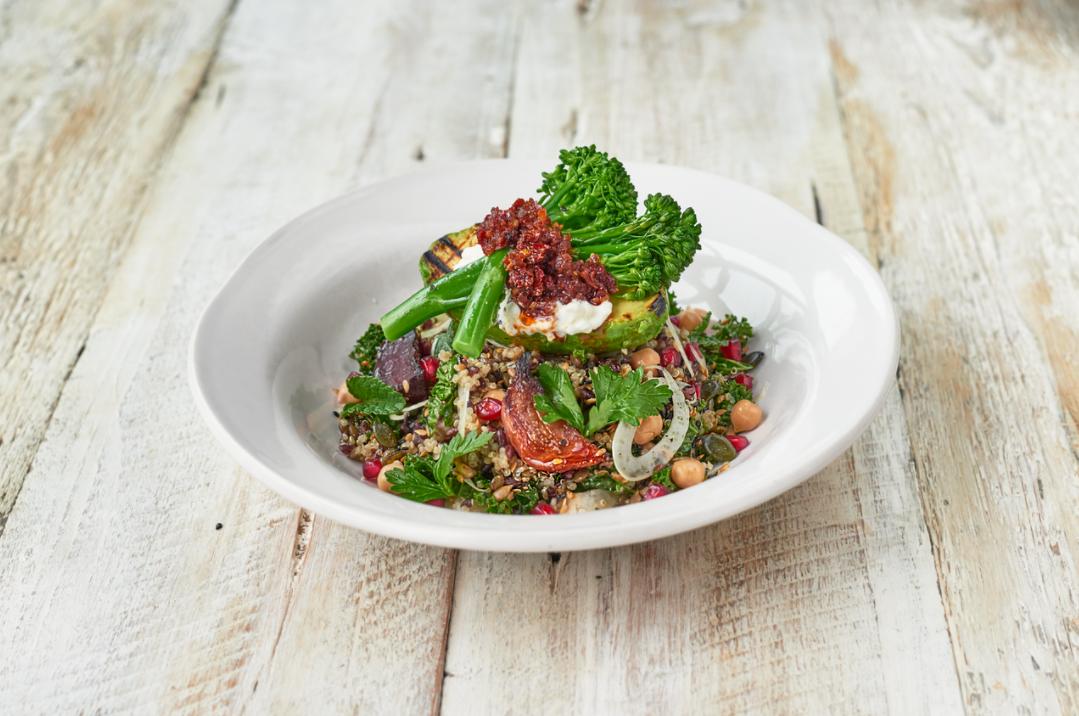Super-food salad at Jamie's Italian