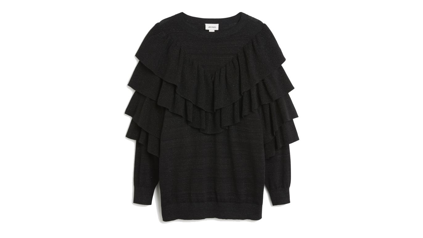 Monki AW17 frill knit
