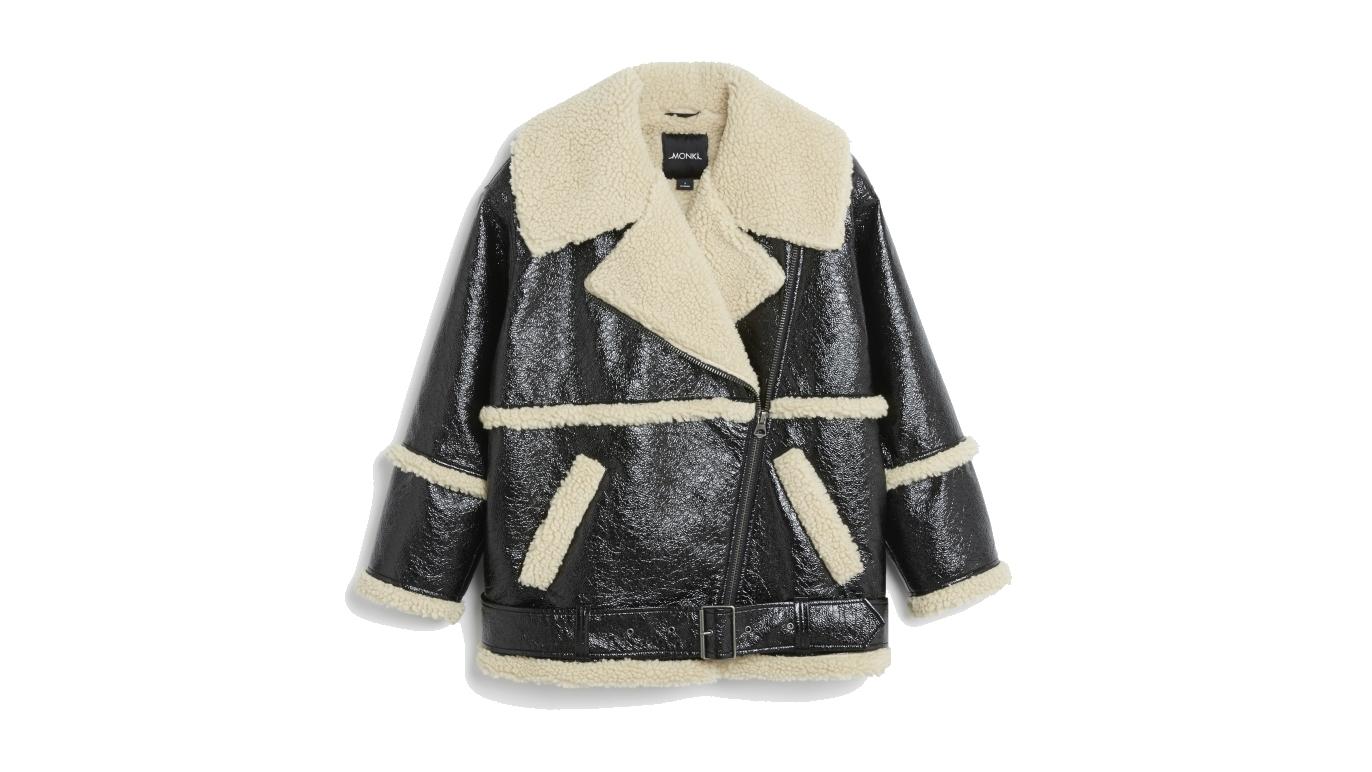 Monki AW17 furry jacket
