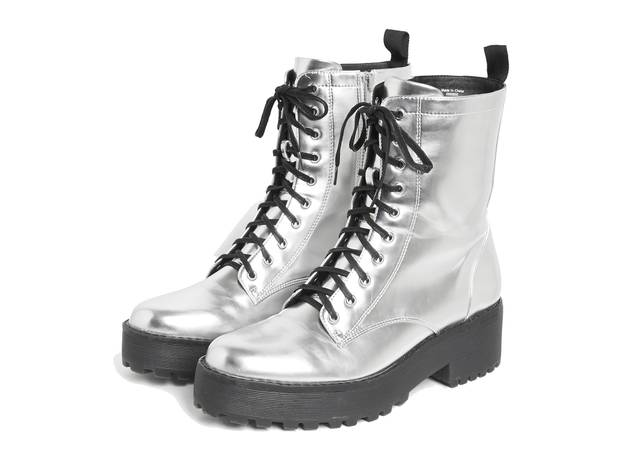 Monki AW17 silver boots