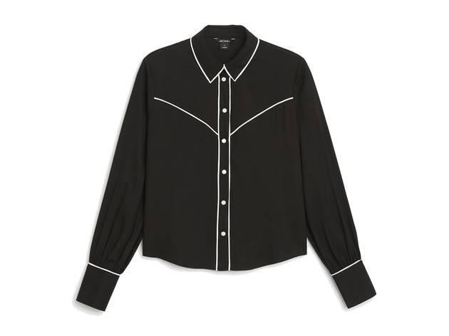 Monki AW17 petra blouse