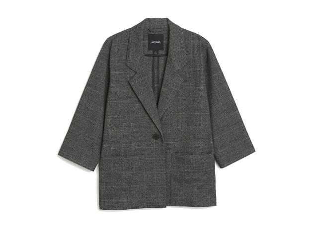 Monki AW17 grey blazer