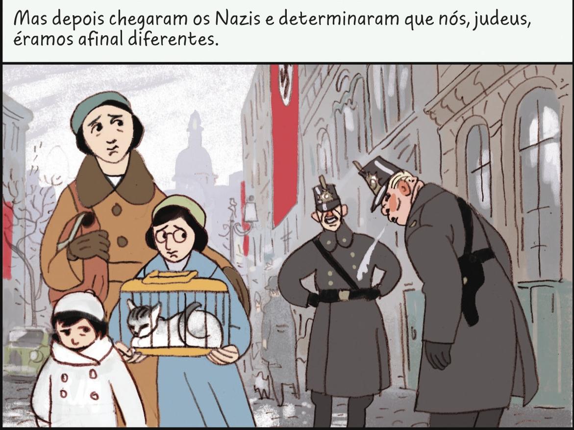 A Hist U00f3ria De Anne Frank Agora Em Di U00e1rio Gr U00e1fico E Aos