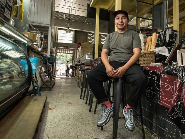 Smithe en Mercado de San Juan