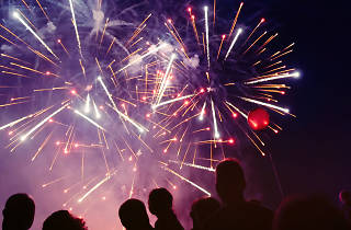 Lambeth Fireworks - Brockwell Park