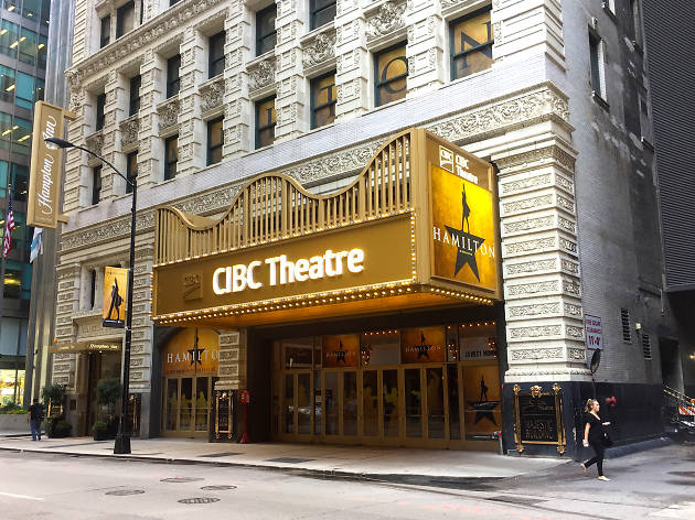 Cibc Theatre Theater In Loop Chicago