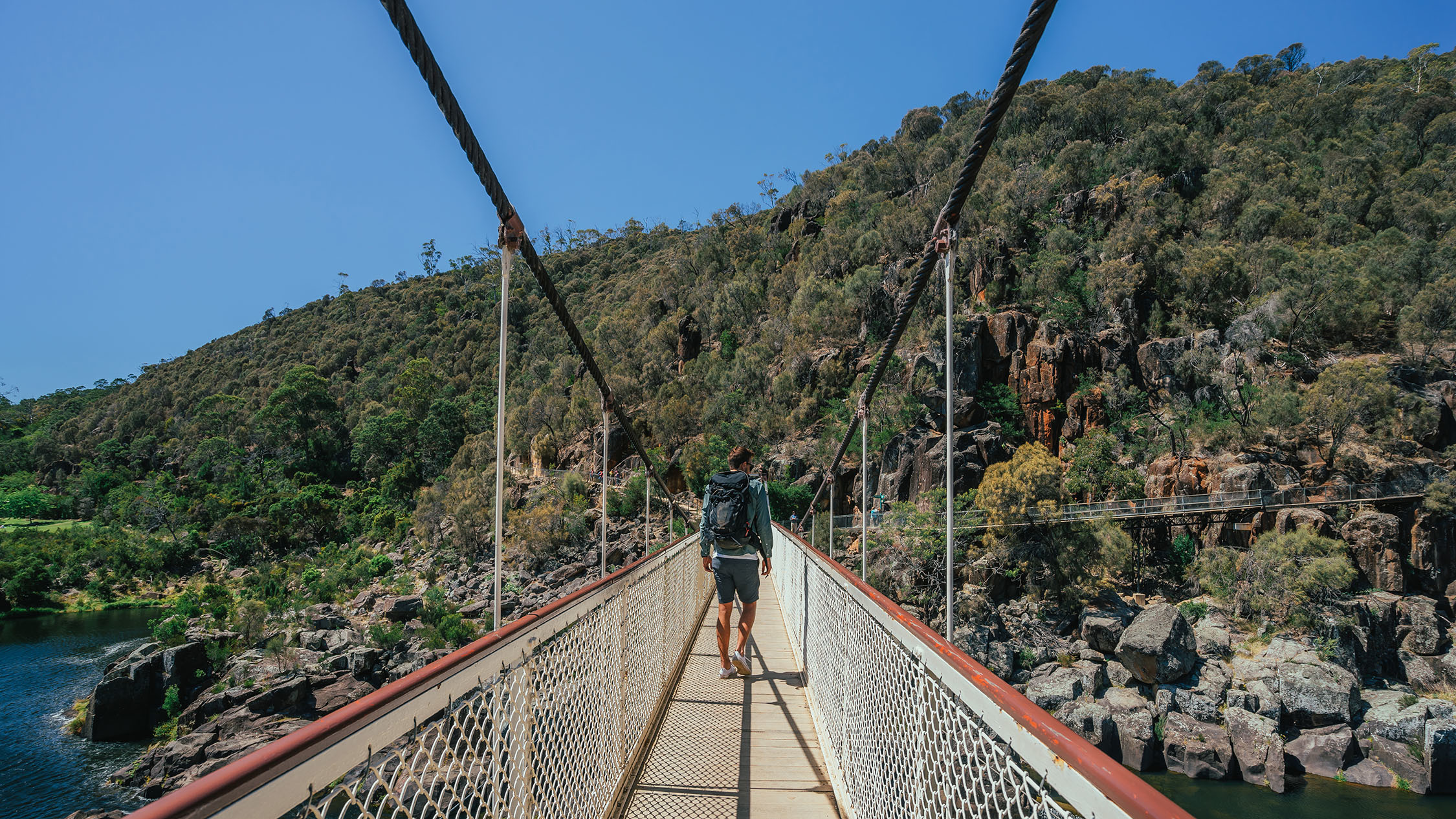 Alexandra Suspension bridge, Cataract Gorge