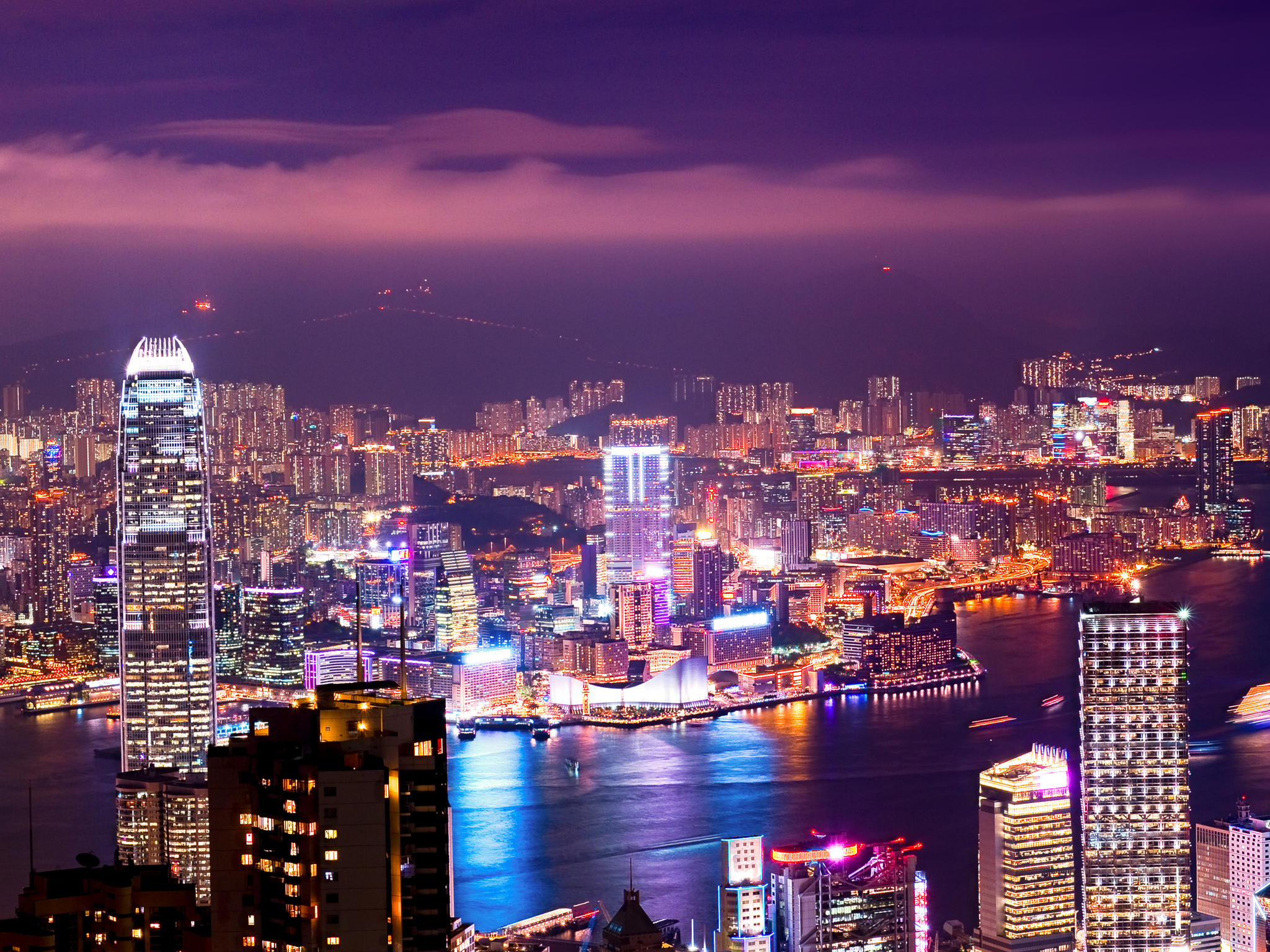 One week in Hong Kong