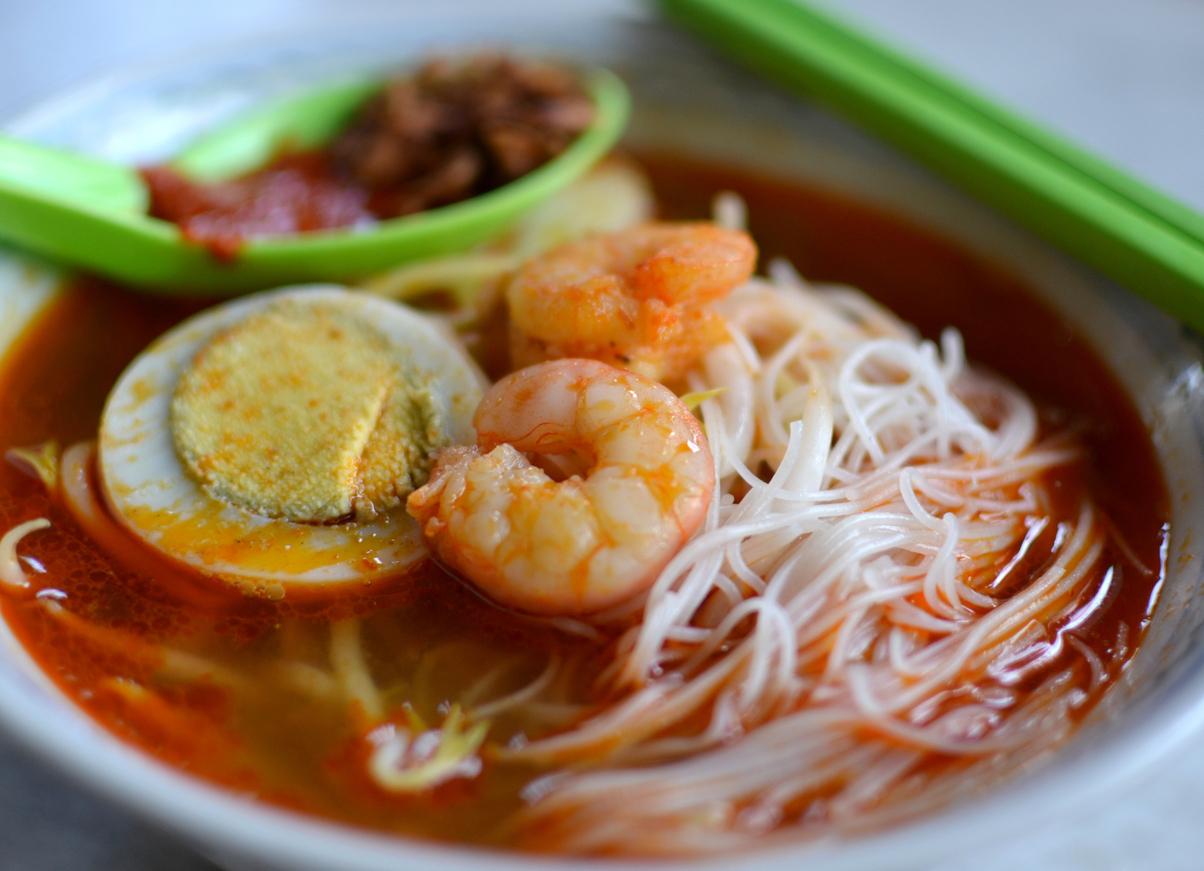 Penang Prawn Noodle, hokkien prawn mee