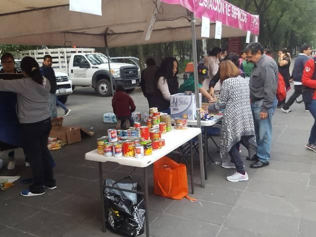 Centro de acopio Chapultepec