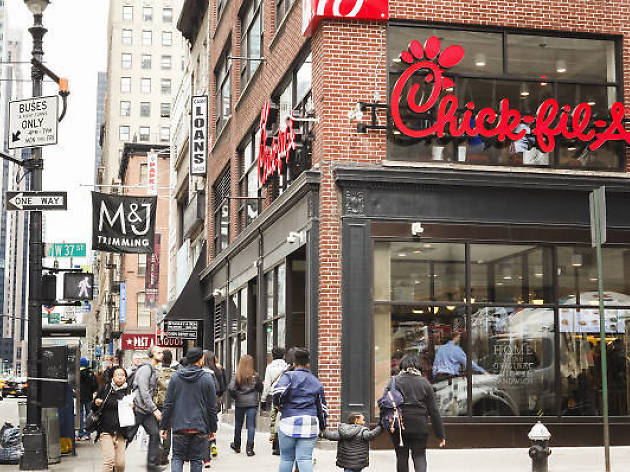 The largest Chick-fil-A in the world is coming to NYC