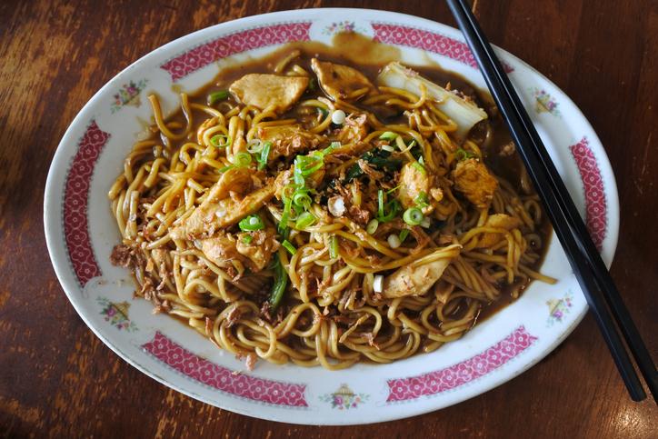 hokkien char, hokkien chicken noodles