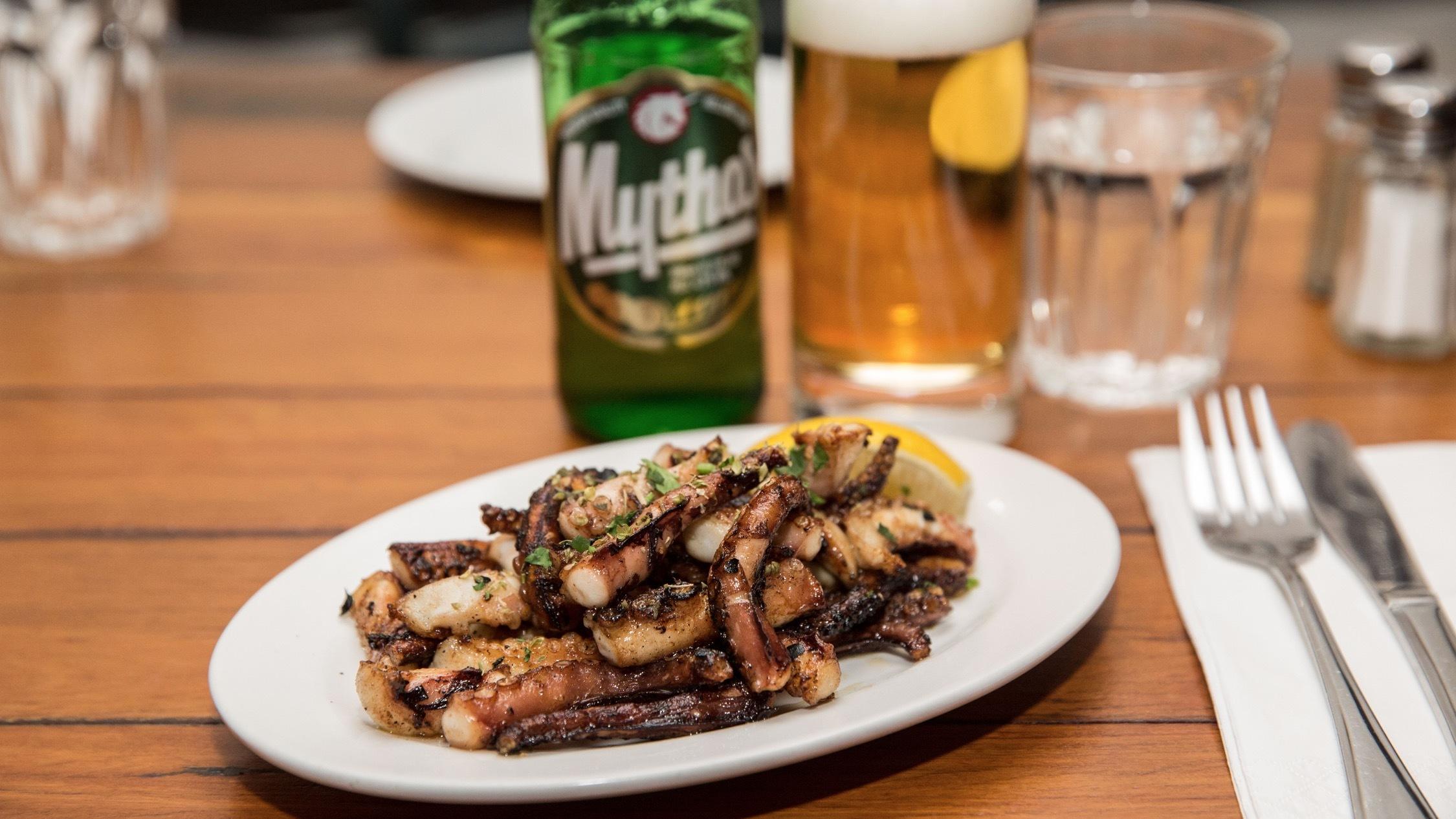 Octopus at Steki Taverna
