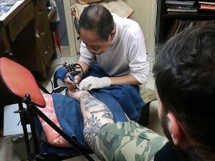 Jimmy Ho Tattoo