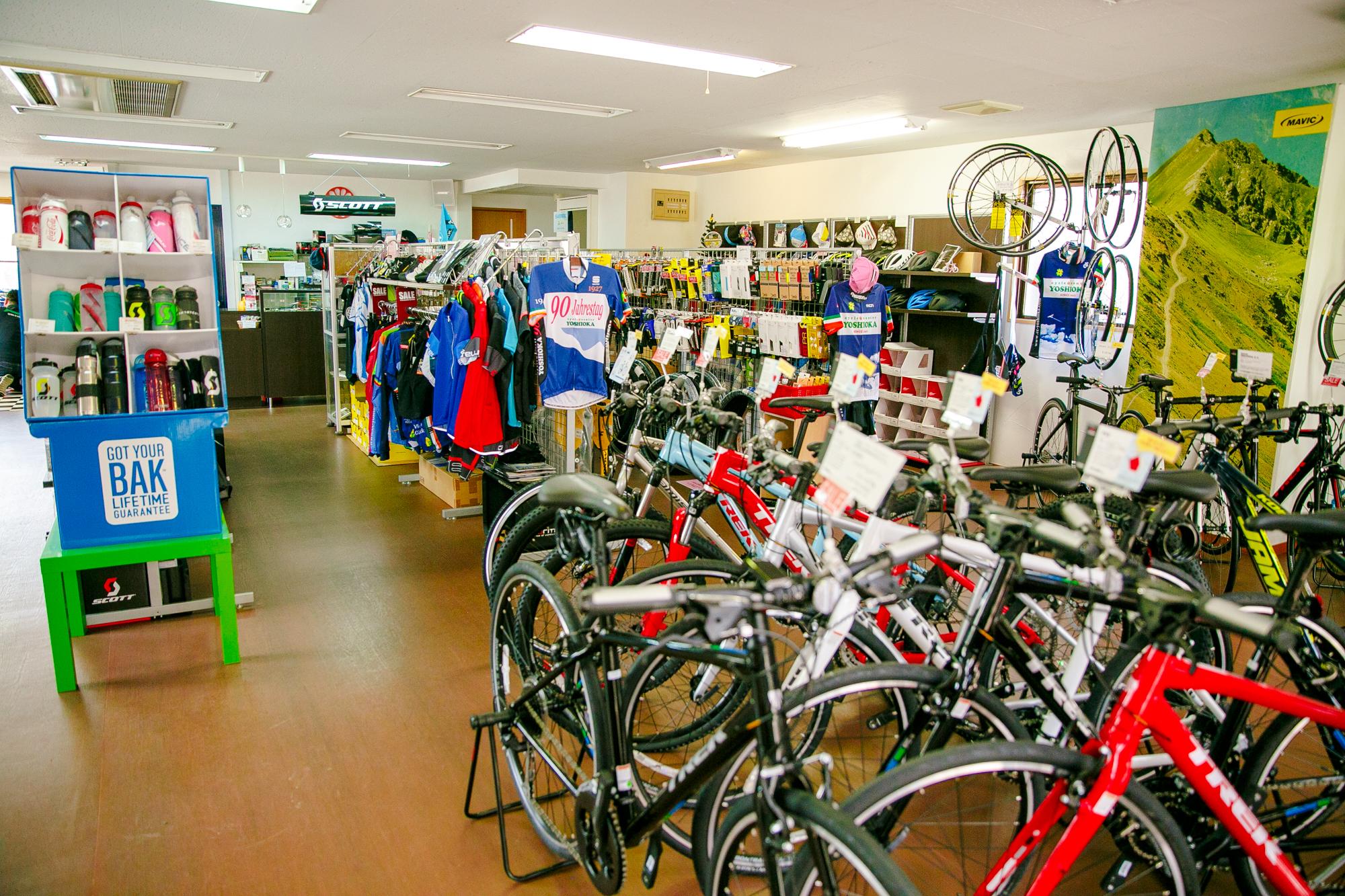 サイクルセンター吉岡