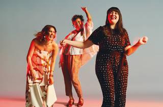 STC Black is The New White, Kylie Bracknell (Kaarljilba Kaardn), Melodie Reynolds-Diarra and Shari Sebbens by Renee Vaile